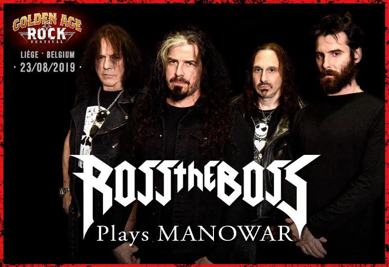 Ross the Boss plays Manowar