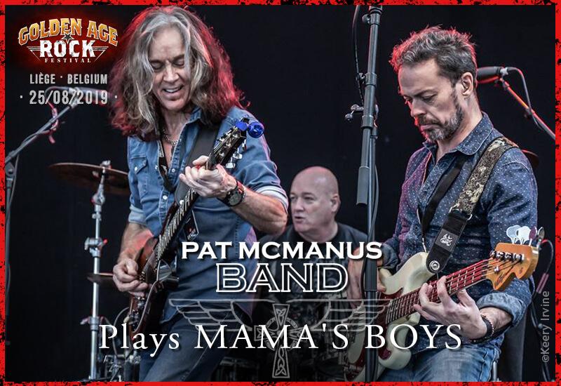 Pat McManus plays Mama's Boys