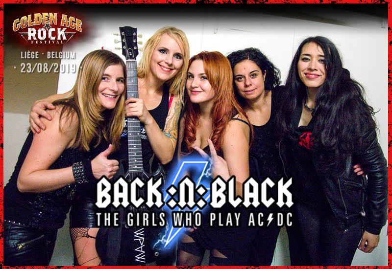 Back:N:Black, The Girls Who Play AC/DC